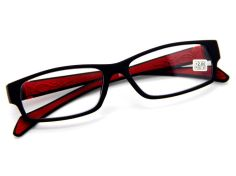 Mens-Women-Rubber-Coated-Frame-Grip-Reading-Glasses-Black-Red-Many-Strength